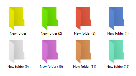 Cara Mengubah Warna Folder di Windows 7/8/10