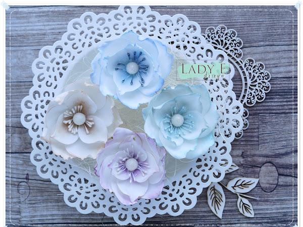 Delicate Foamiran Flowers
