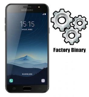 Samsung Galaxy C8 SM-C710F Combination Firmware