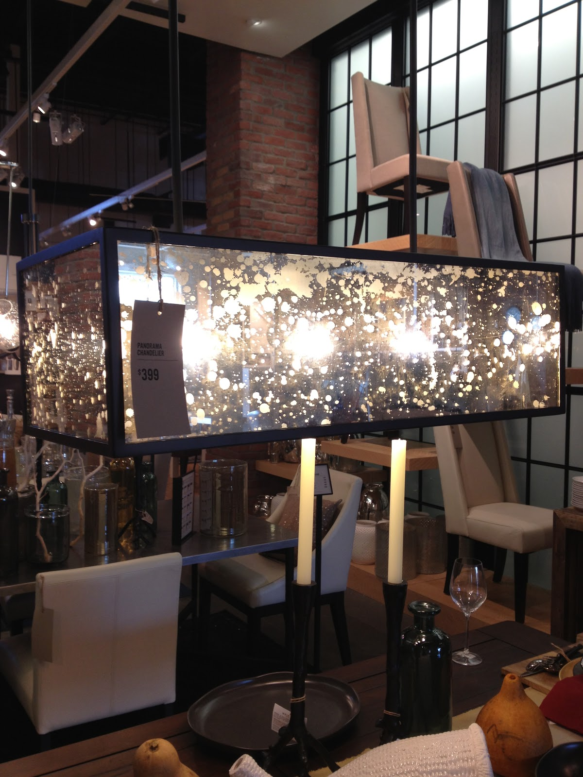 Panorama Chandelier West Elm