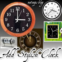 Animated Flash Clock
