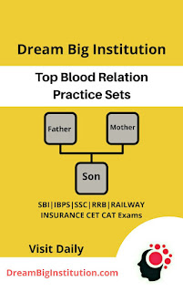 Verbal Reasoning Blood Relation Problems Sets PDF