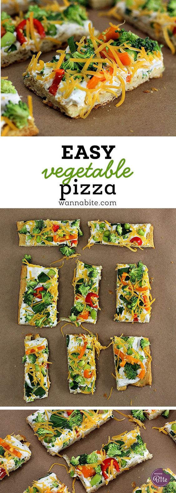 EASY VEGETABLE PIZZA