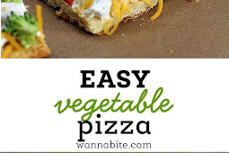 EASY VEGETABLE PIZZA