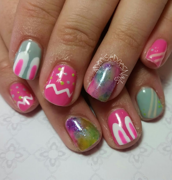 nail art denise groves happy