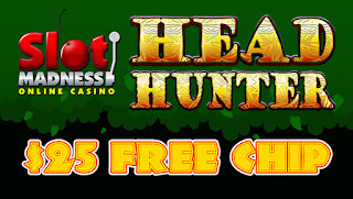 Slot Madness Casino $25 Free Chip