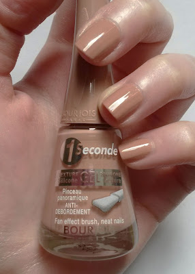 Beige Distinction, 1 Seconde Bourjois swatch