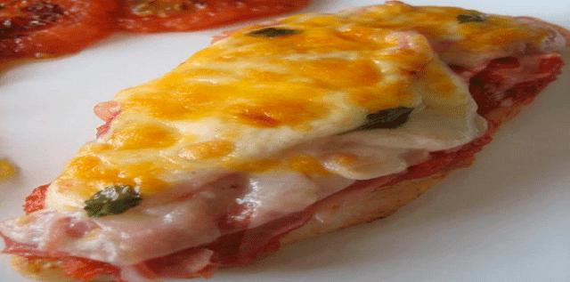 Receta de Pollo a la Napolitana  Exquisita receta de pollo a la napolitana, delicioso y sencillo de preparar.