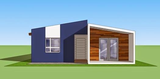 Fachadas de casas modernas fachadas de casas modernas - Fachadas de casas pequenas de un piso ...