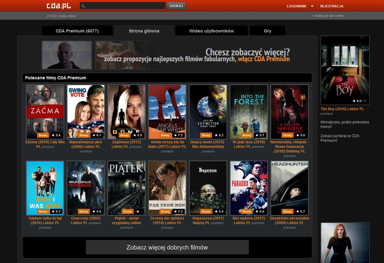 filmy za darmo online cda