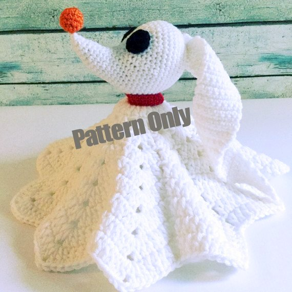 Amigurumi pattern for the Halloween Shimmering Ghost | 570x570