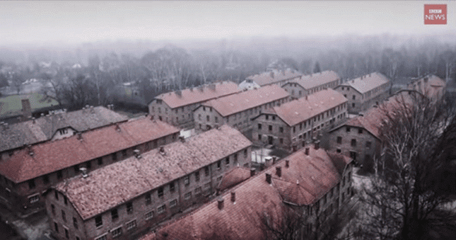 Shocking Video Captured By Drone That Flew Over Auschwitz