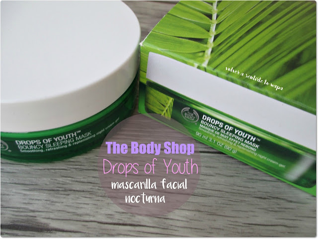 The Body Shop - Mascarilla Facial Nocturna Drops of Youth