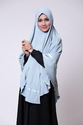 Kerudung harga murah harga gaun dress gamis cantik siswi manis jadi model hijaber