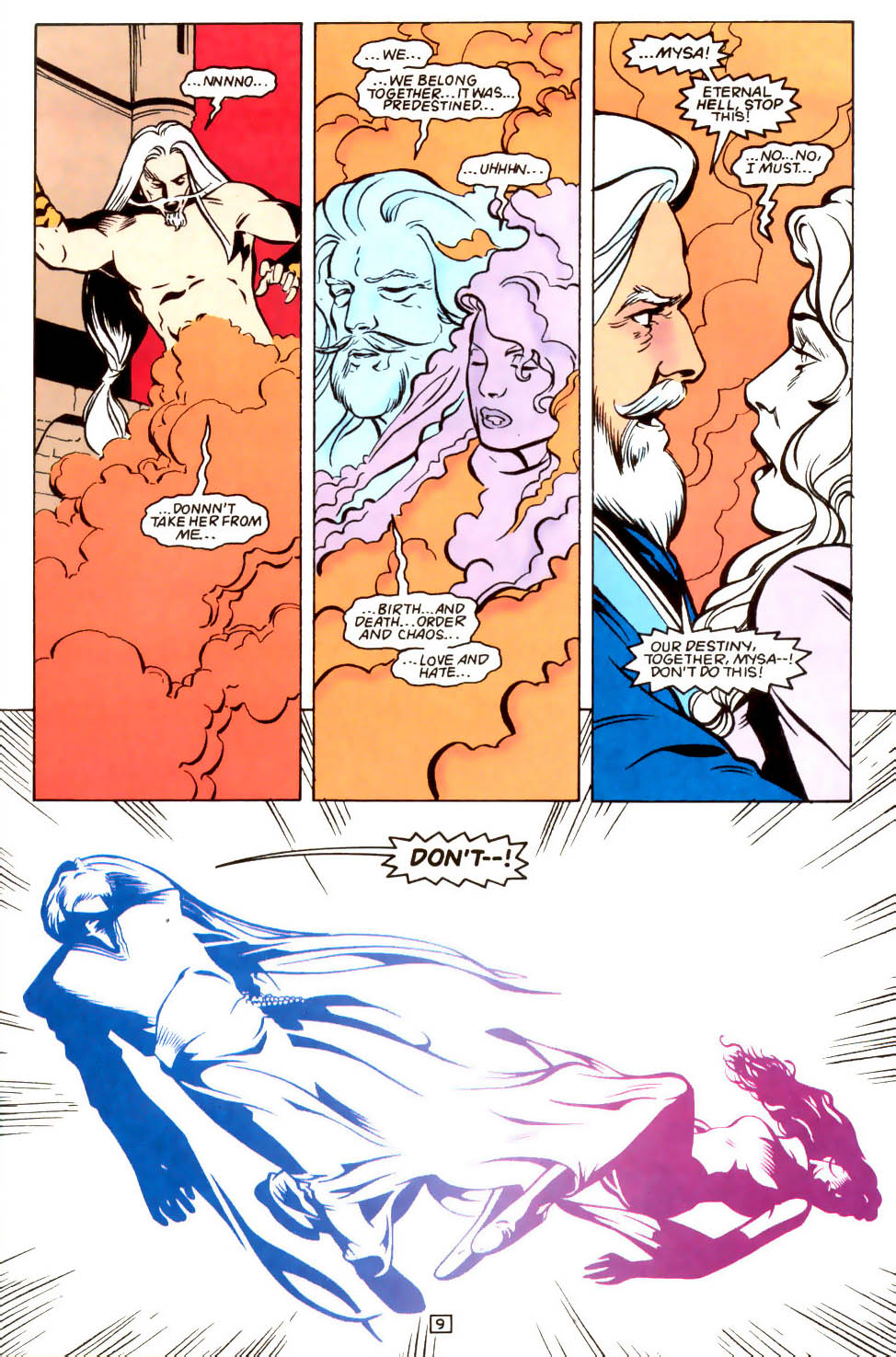Legion of Super-Heroes (1989) 48 Page 9