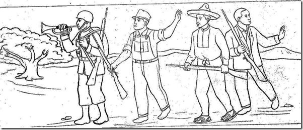 dibujos para pintar de la batalla de ayacucho dibujos para