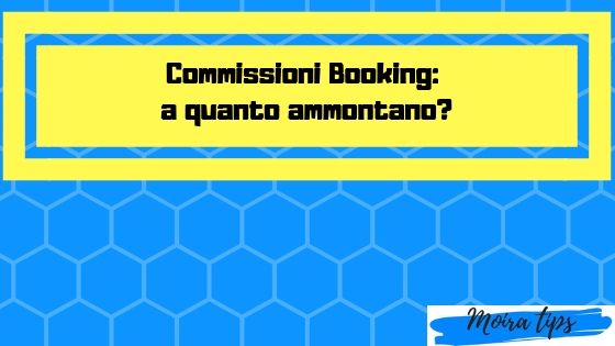 commissioni booking