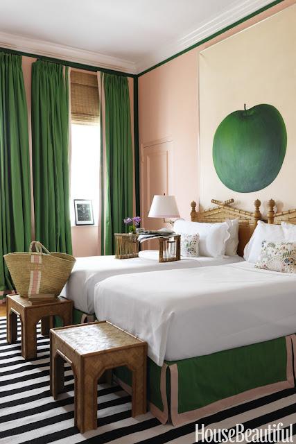 beach bedroom decor Amanda Lindroth via belle vivir blog
