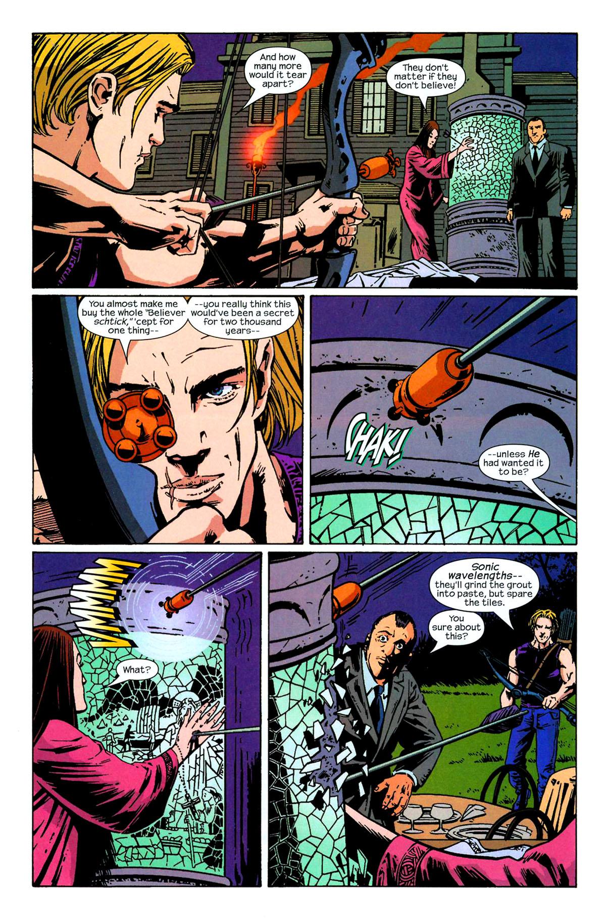 Hawkeye (2003) Issue #6 #6 - English 21