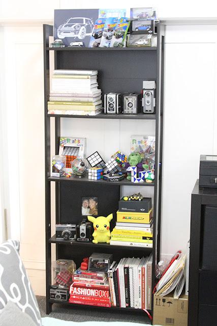 Will Bake for Shoes | Studio Apartment Bookshelf