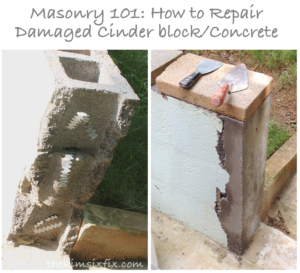 Masonry 101 How To Repair A Concrete Cinder Block Wall