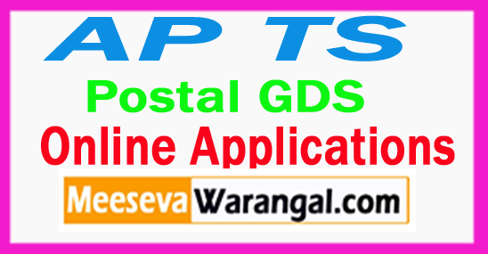AP/TS Postal GDS Online Applications 2017