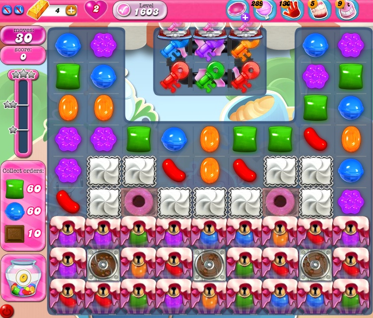 Candy Crush Saga 1603
