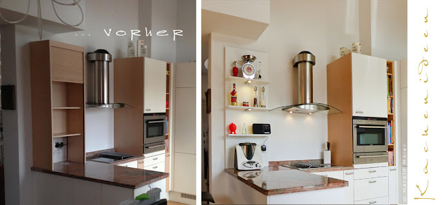 Vitrine Hängeschrank   Wir Renovieren Ihre Küche : Licht ...