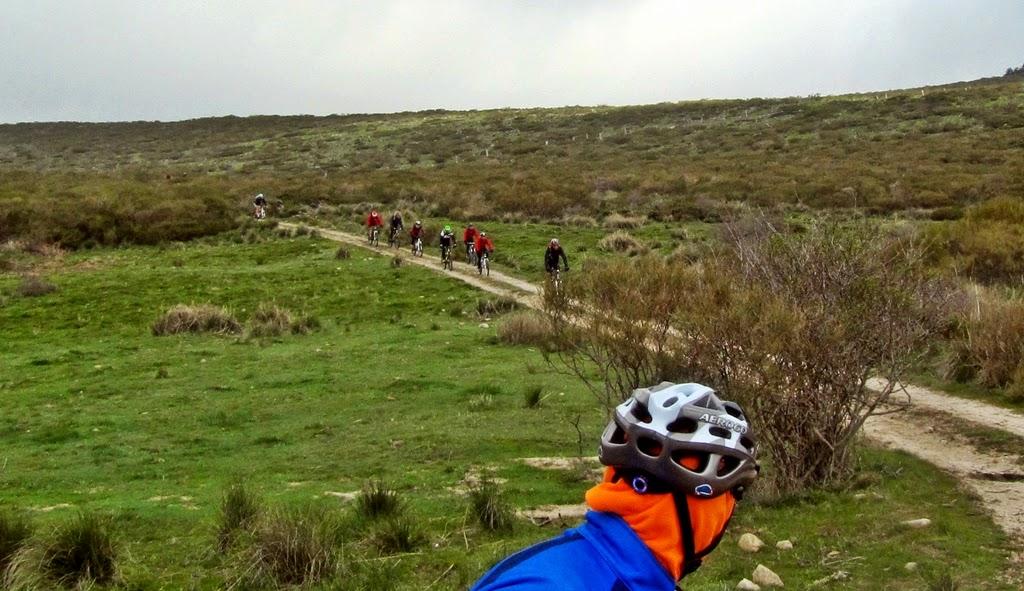 MTB a Peguerinos por La Cepeda
