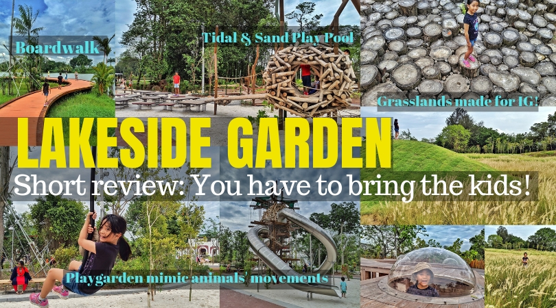 Cheekiemonkies Singapore Parenting Lifestyle Blog Lakeside Garden Is Now Open With A Massive Playgarden That Allows Kids To Mimic Animals Movements An Unbelievable Water Play Area With Tides Cheekie Monkies