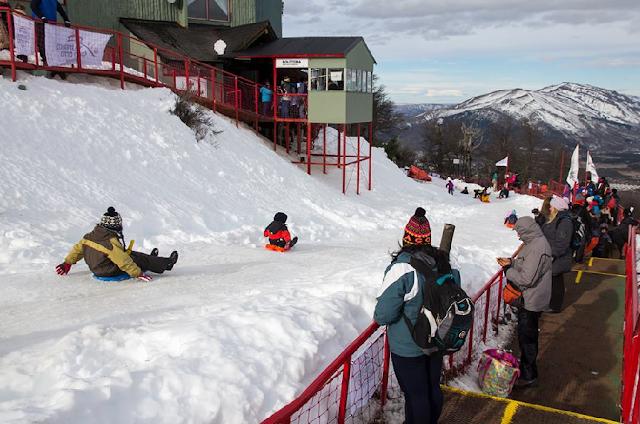 Pista de esqui Cerro Otto em Bariloche na Argentina