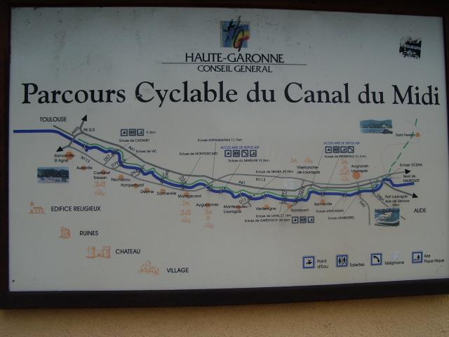 Canal Du Midi Randonn 233 Es Et Balades 224 V 233 Lo Et Camping Car Canal Du Midi En Vtt De Toulouse 224
