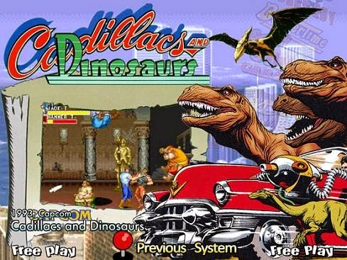 Cadillacs and Dinosaurs Game Free Download for PC