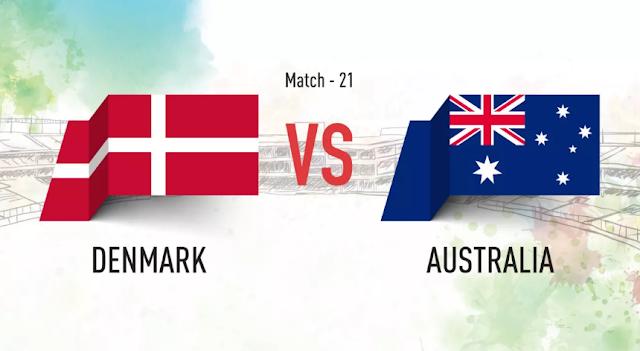 اهداف مباراة الدنمارك وأستراليا Denmark vs Australia في مونديال 2018 في روسيا