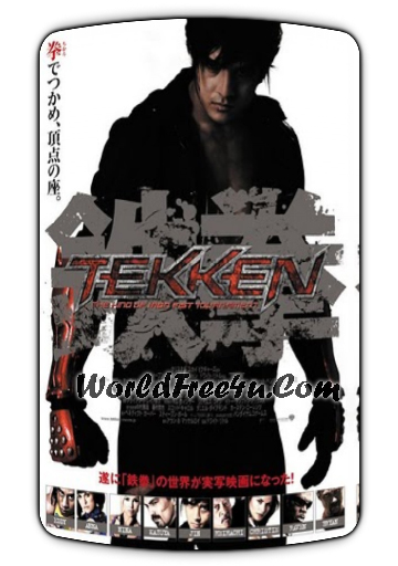 Poster Of Tekken (2010) Full Movie Hindi Dubbed Free Download Watch Online At worldofree.co