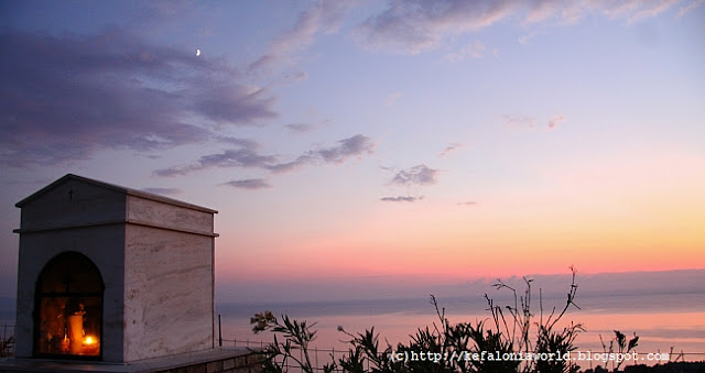 October sunset, Kefalonia
