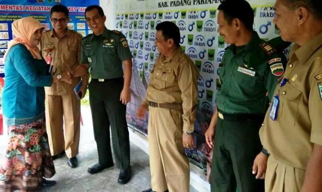 Dandim 0308 Pariaman Apresiasi Aksekptor KB ke Tingkat Provinsi