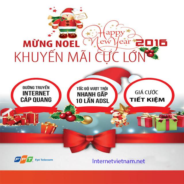 FPT Telecom Khuyến Mãi Mừng Giáng Sinh 2015