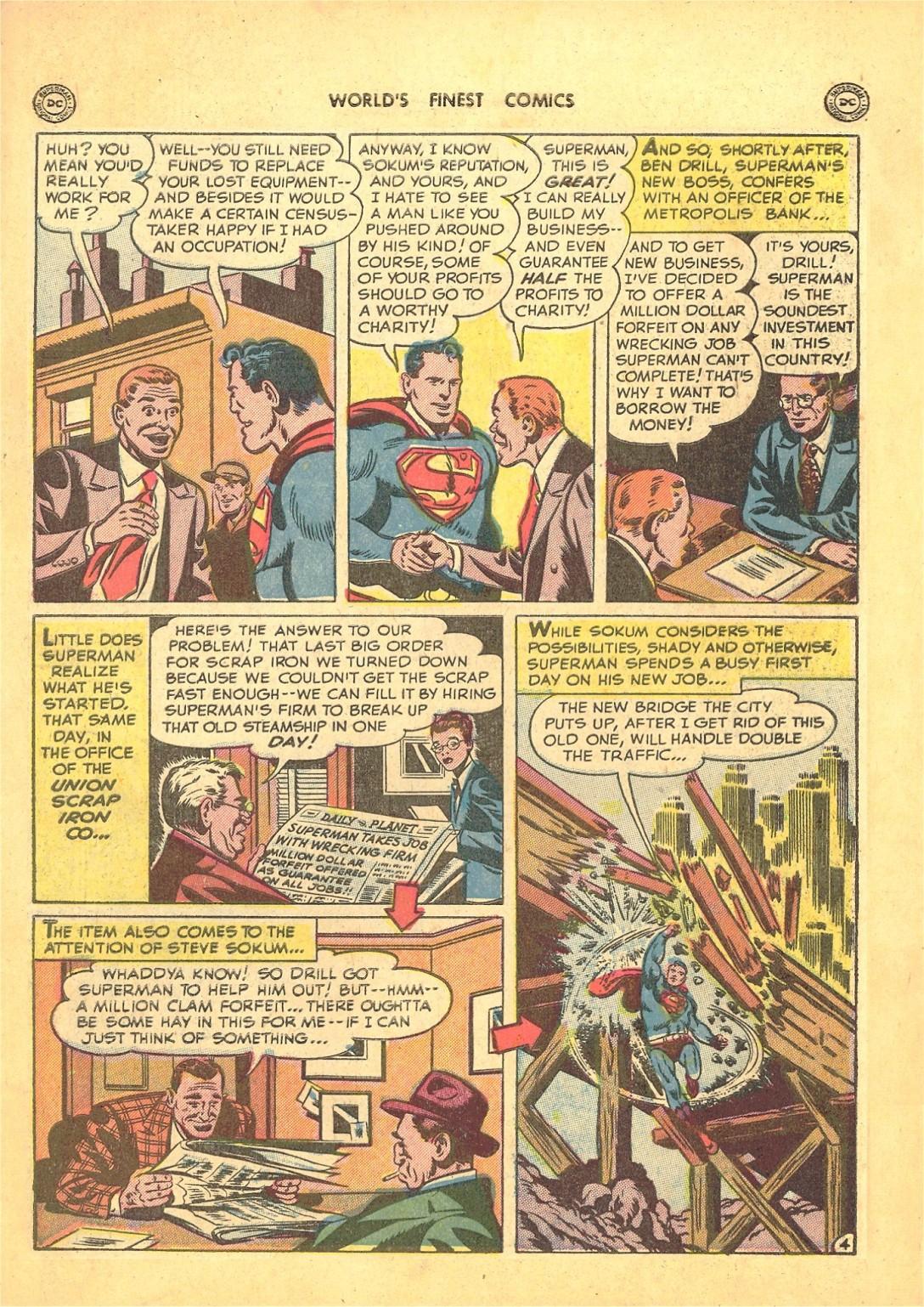 Read online World's Finest Comics comic -  Issue #50 - 6