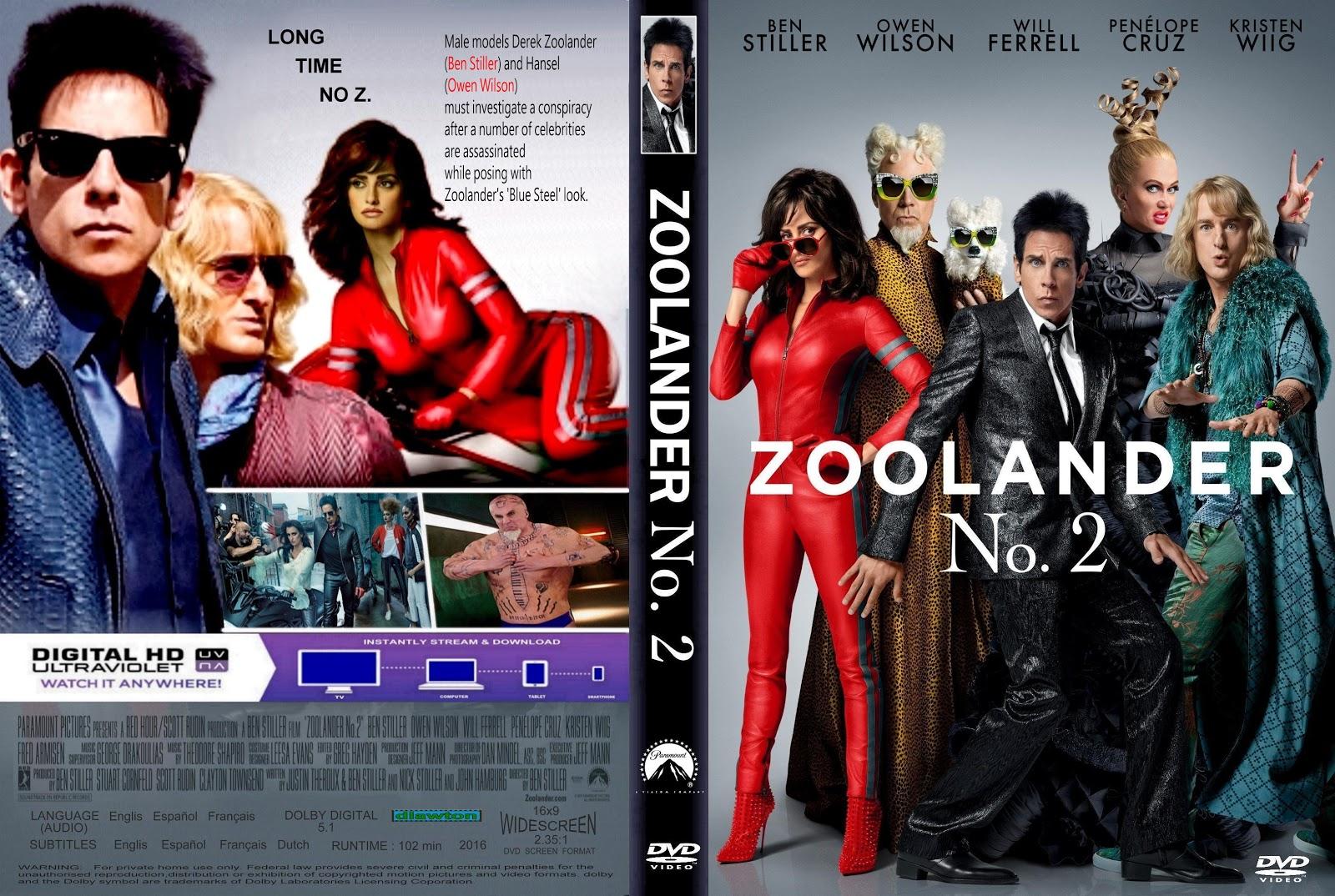 Download Zoolander 2 DVD-R Zoolander 2B2 2B 25282016 2529 2B 25281 2529