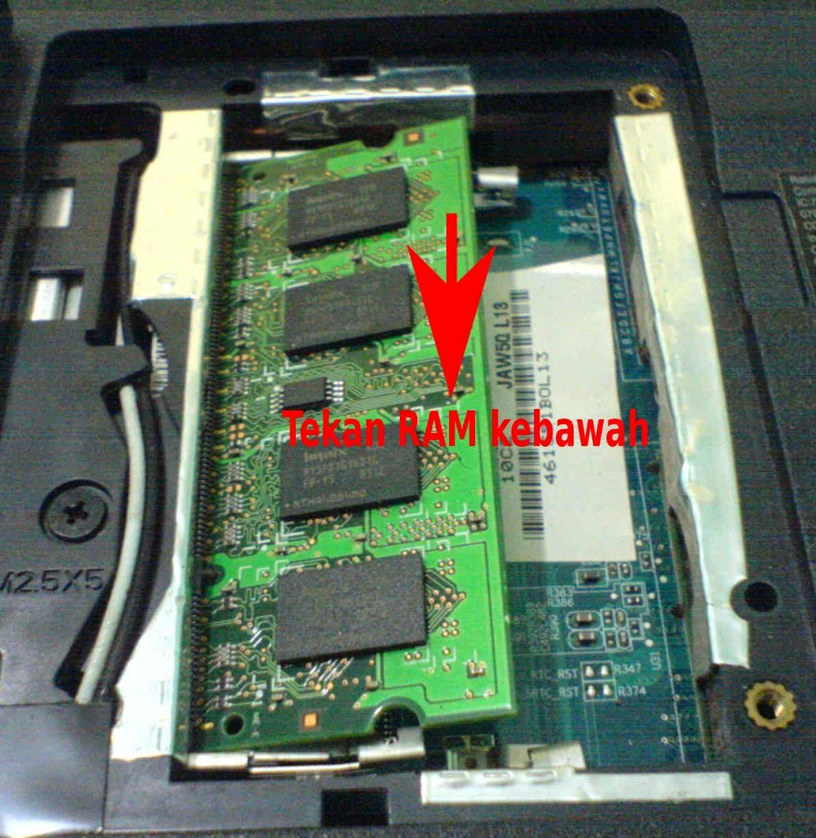 Menambah atau Mengganti RAM Pada Laptop | Semangat Baru ...