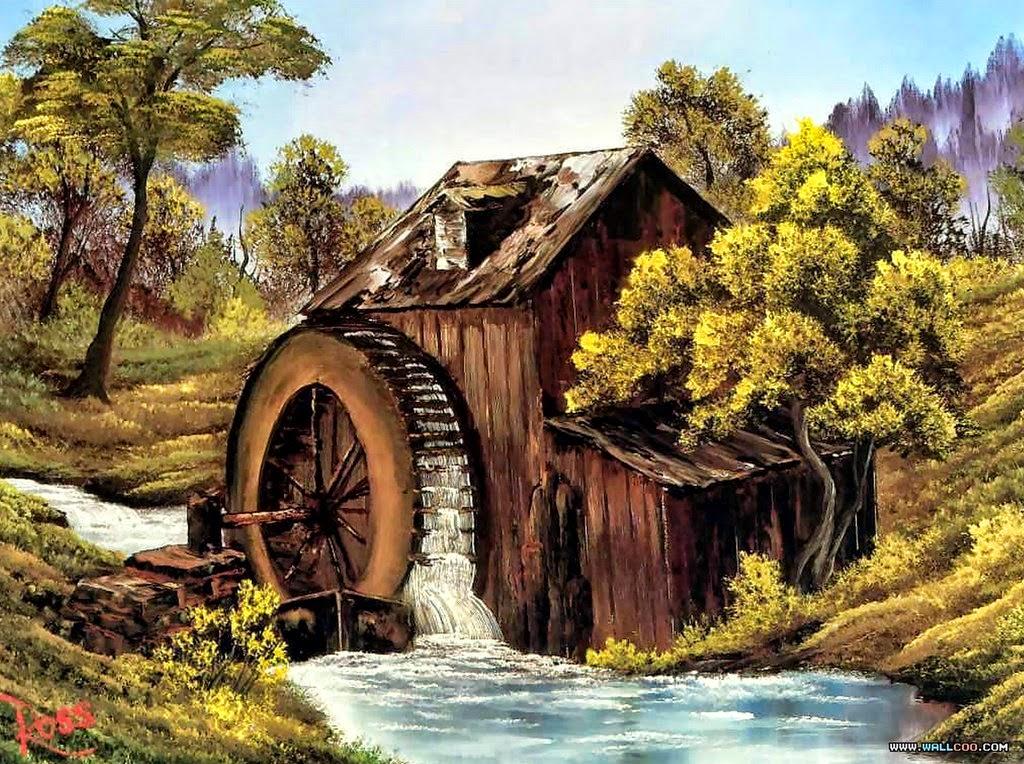 Cuadros modernos pinturas y dibujos fotos de paisajes - Como hacer cuadros faciles en casa ...