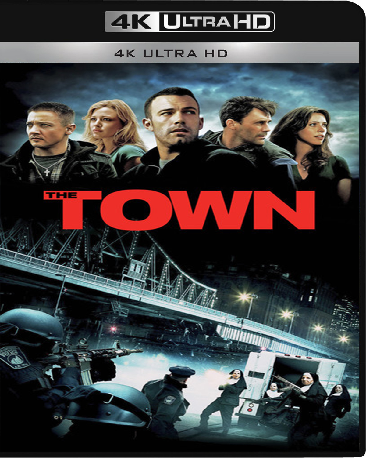 The Town [2010] [UHD] [2160p] [Latino – Castellano]