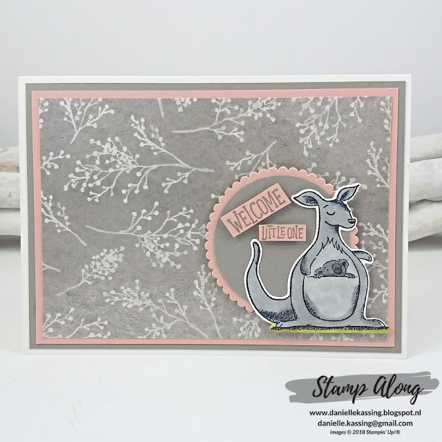 Stampin' Up! Frosted Floral Specialty DSP en Animal Outing
