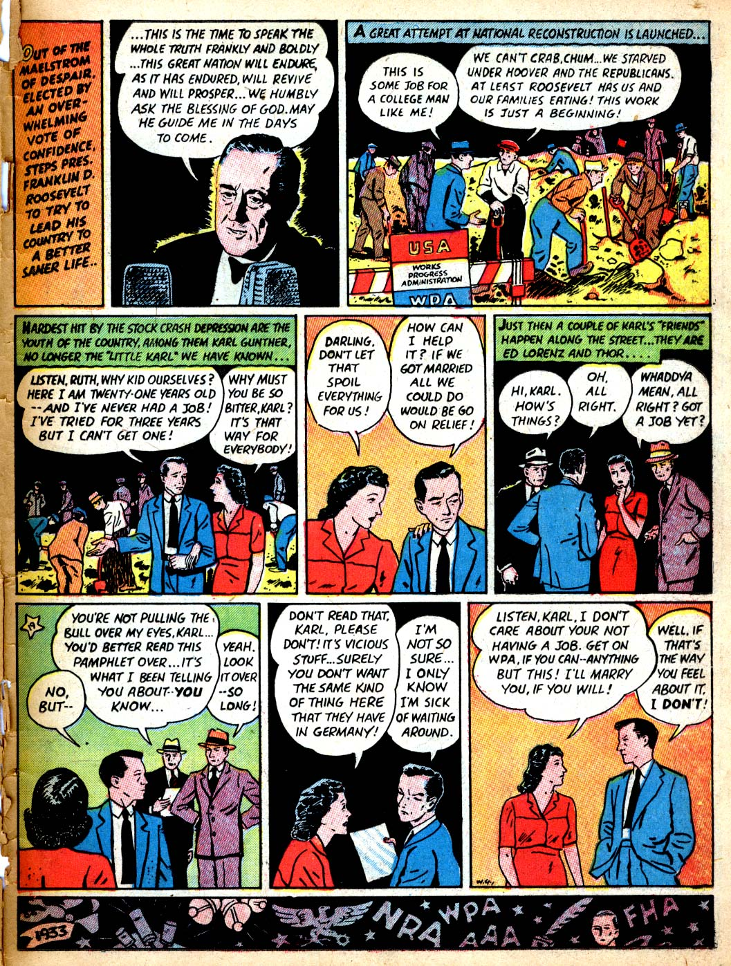 Read online All-American Comics (1939) comic -  Issue #9 - 63