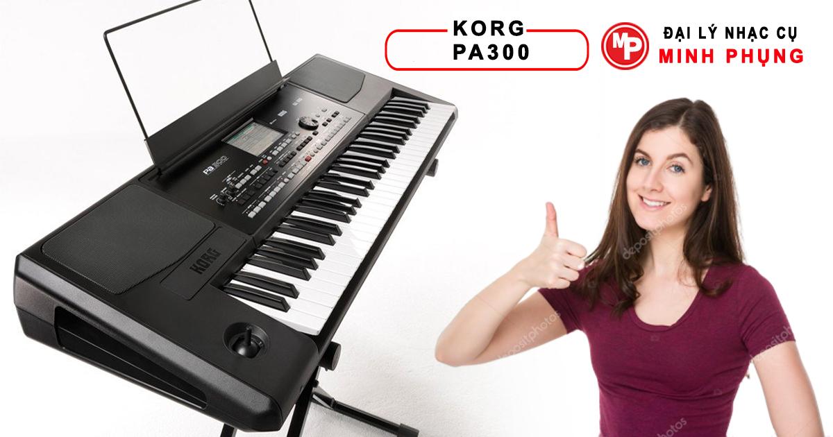 Đàn Organ Korg PA300 chính hãng