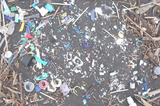 Increase in plastics waste reaching remote South Atlantic islands
