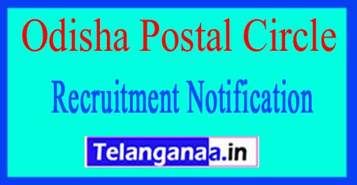 Odisha Postal Circle Recruitment Notification