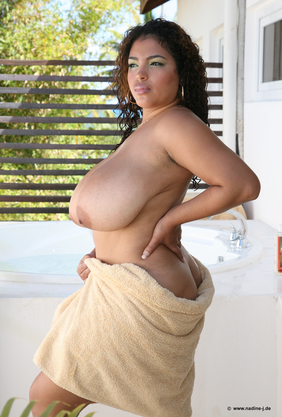 Busty dominican poison