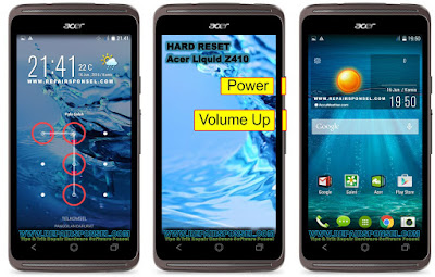 Hard Reset Acer Liquid Z410 Test Success